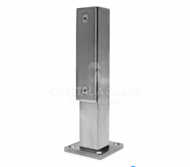 CG Brushed Stainless Steel Aluminum Post – 9-3/16″