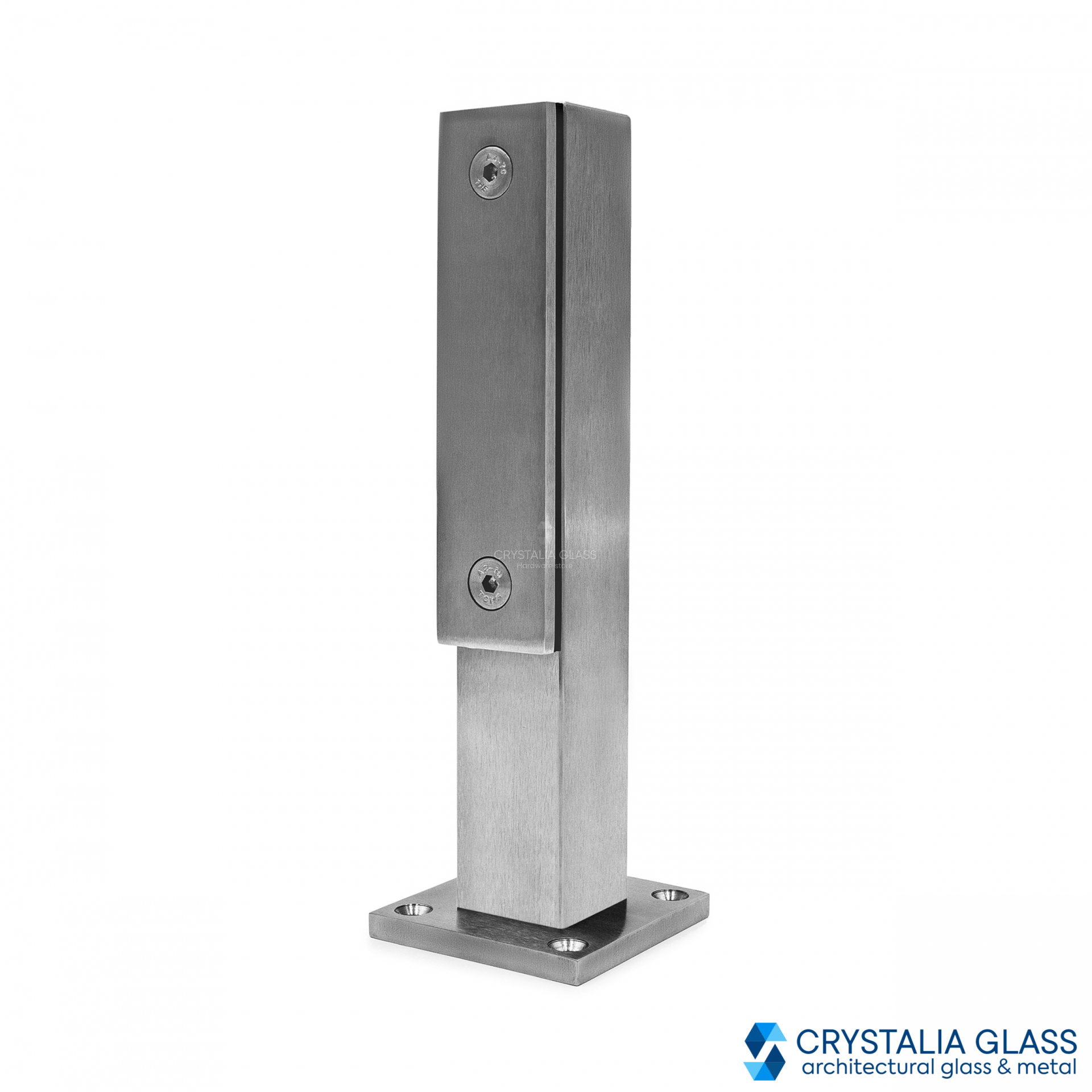 CG Brushed Stainless Steel Aluminum Post - 9-3/16
