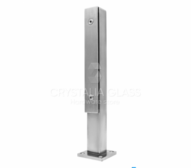 CG Brushed Satin Stainless Steel Post – 15-3/4""