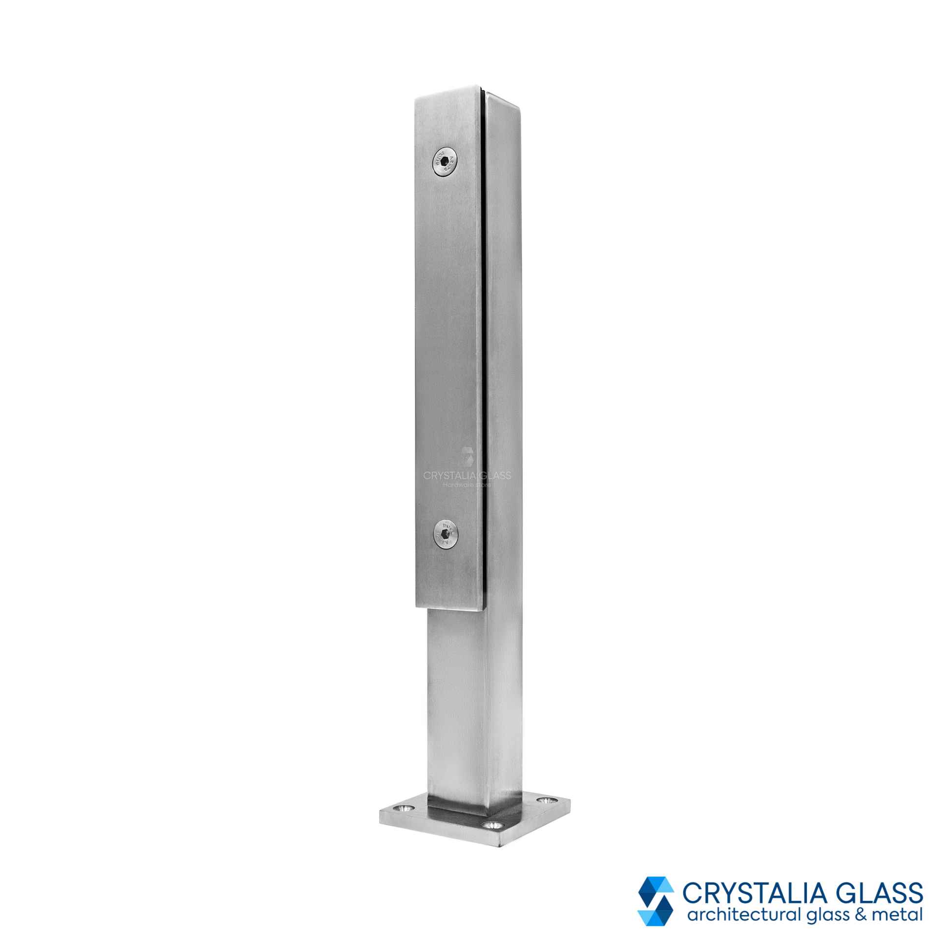 CG Brushed Satin Stainless Steel Post - 15-3/4''