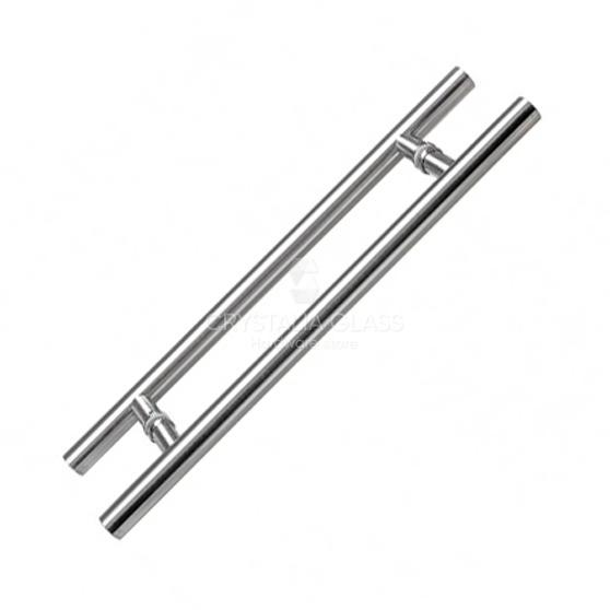 Polished Stainless 48″ Extra Length Ladder Style Back-to-Back Pull Handle