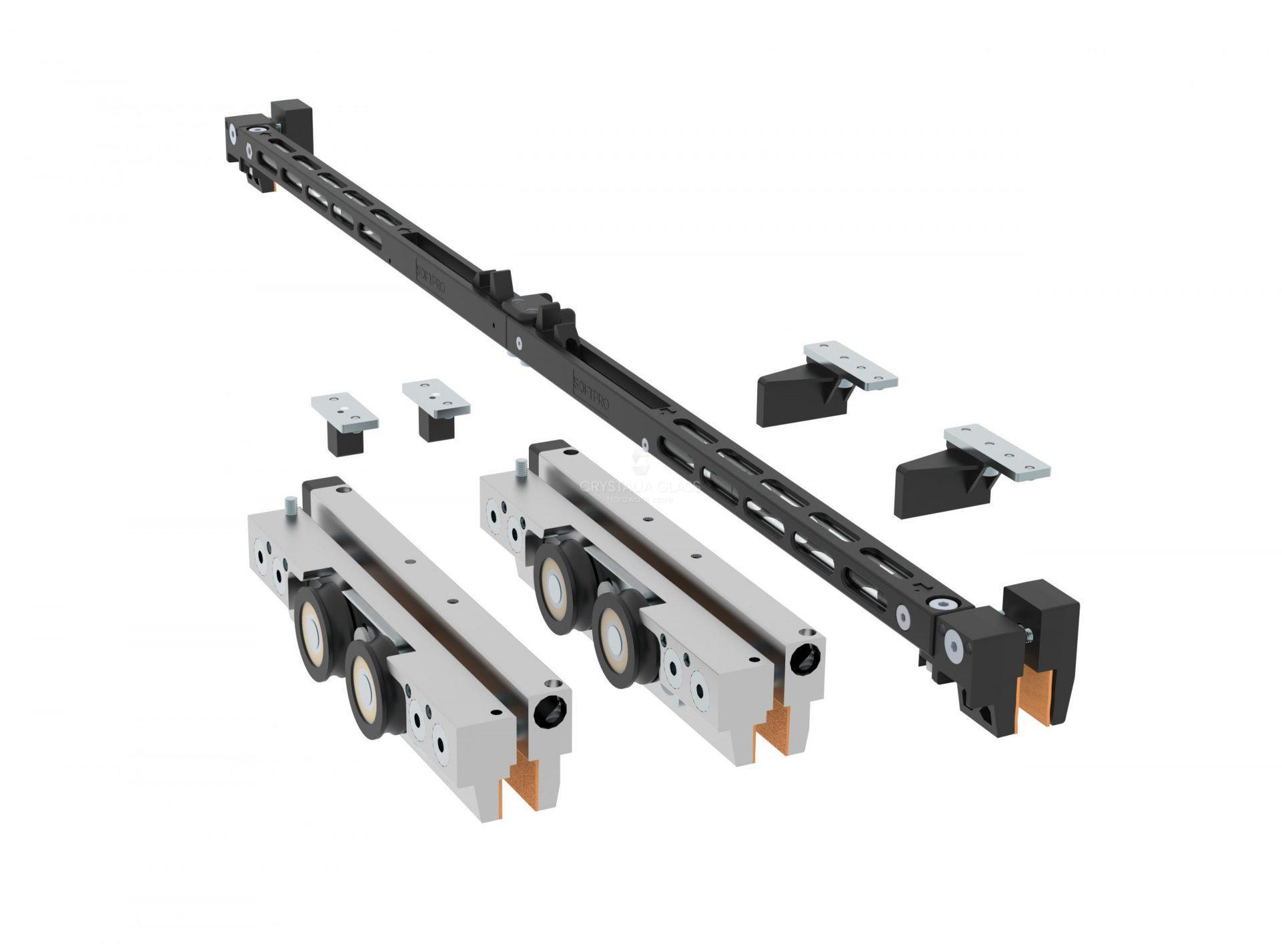 CGS 200 Series Satin Anodized Single Sliding Door Kit