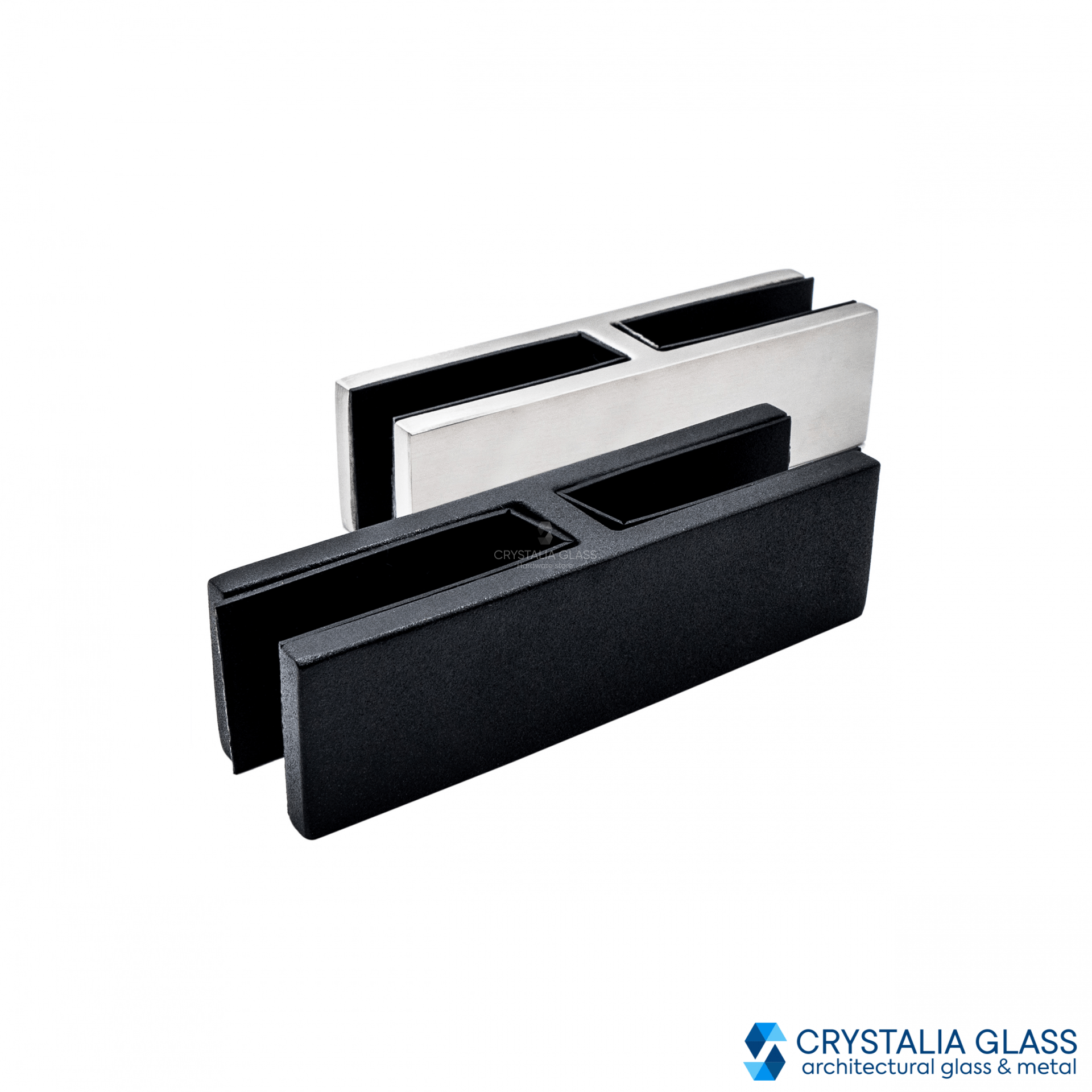 CG Black Matte 180 Degree Glass Clamp