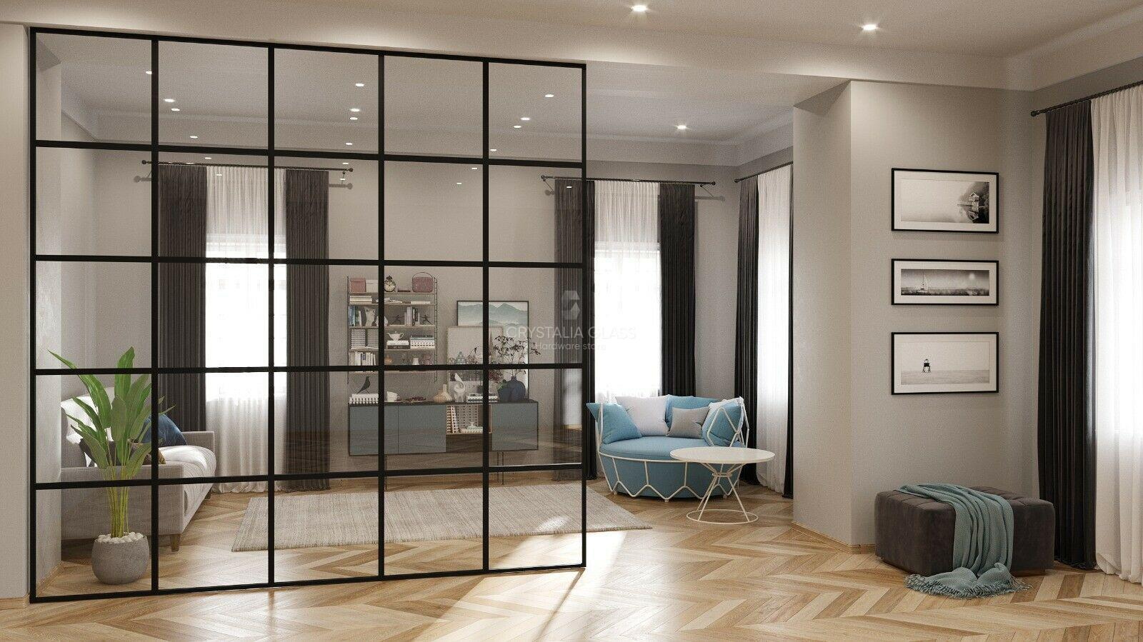 Steel Partition, Room Divider 10' x 10'