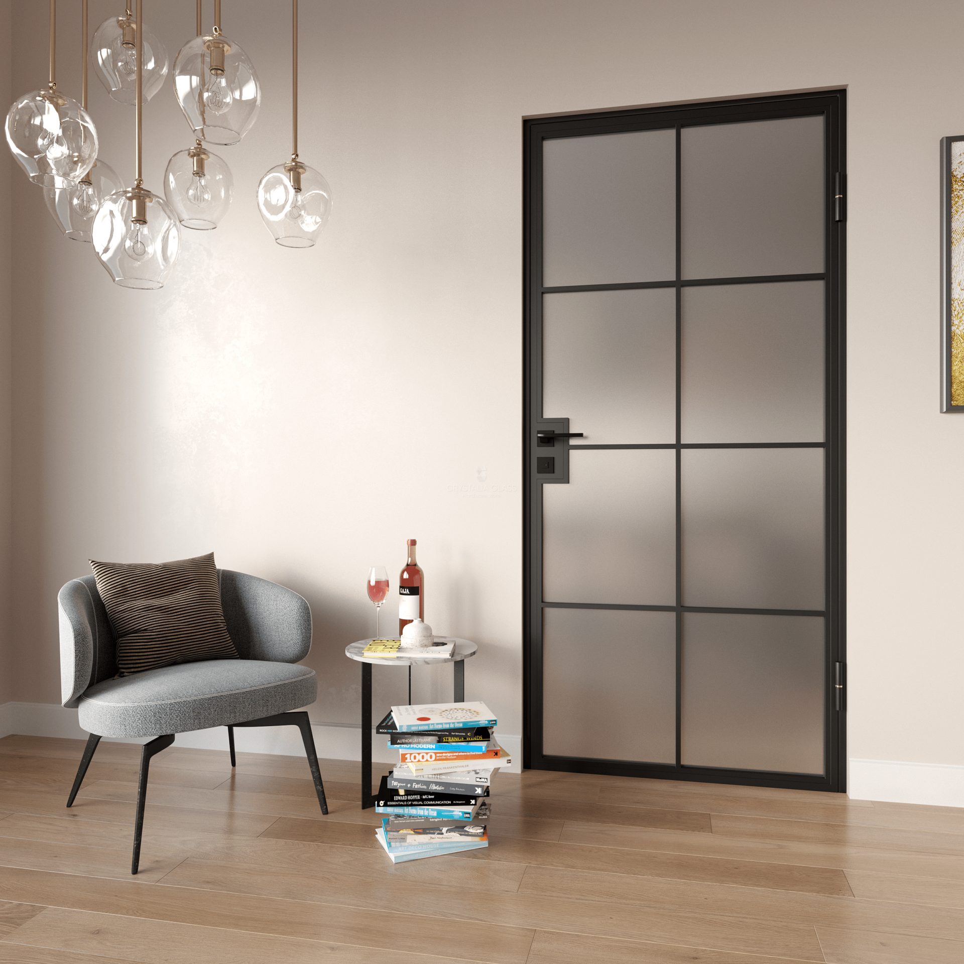 Geneva Interior Single Steel Door